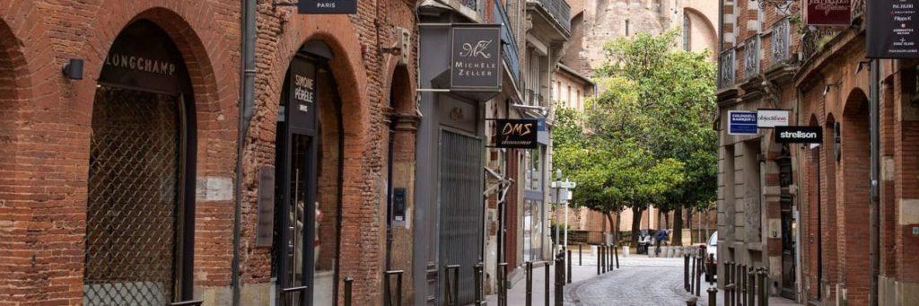 rue toulouse ville rose